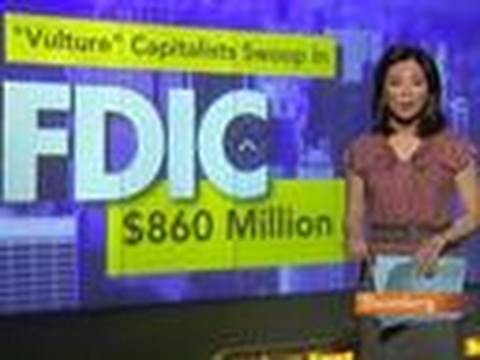 `Vulture' Capitalists Buying Up FDIC's Busted-Bank Loans: Video