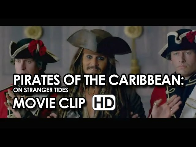 "Johnny Depp in ""Palace Escape"" Clip from Pirates of the Caribbean: On Stranger Tides (2011) HD"