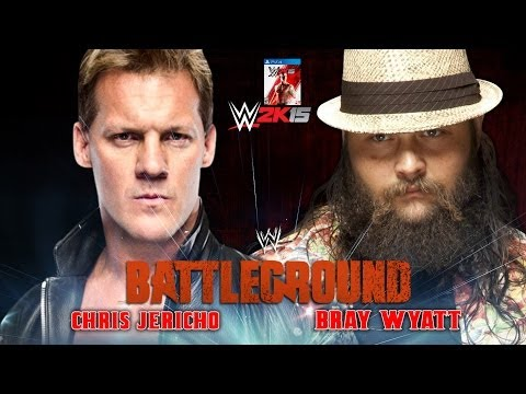 WWE Battleground 2014 - Chris Jericho Vs Bray Wyatt Full Match HD