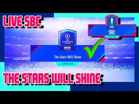 FIFA 19 - The Stars Will Rise SBC & Pack Opening