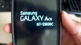 Root No Galaxy Ace GT-S5830C-I-M