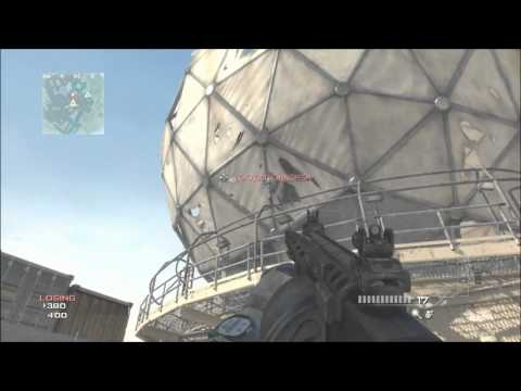 NEW MW3 Glitches - Above Map Dome Glitch!