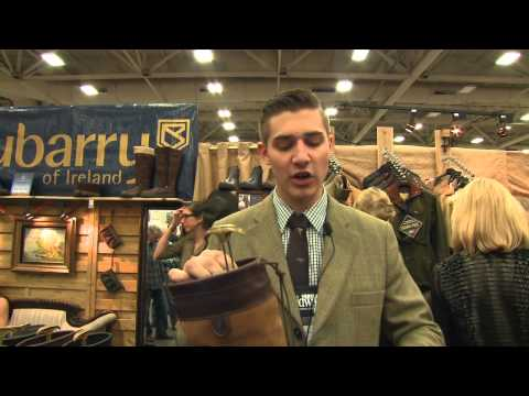 Dubarry of Ireland Boots- Dallas Safari Club Show 2014