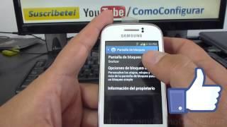Eliminar La Pantalla De Desbloqueo En Samsung Galaxy Young