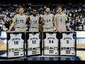 2013-14 Creighton Men's Basketball Senior Day Ceremony