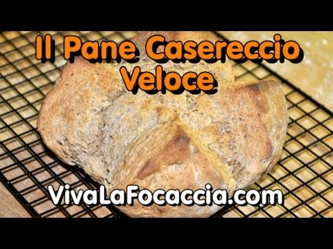 Video Ricetta Pane Fatto in Casa Semplicissimo in Meno di un'Ora