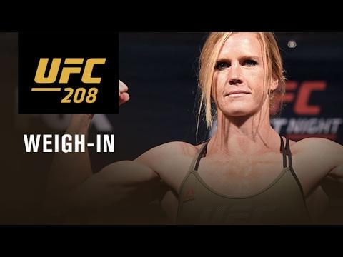 UFC 208: Transmisja oficjalnej ceremonii ważenia na żywo w MMAnews o północy