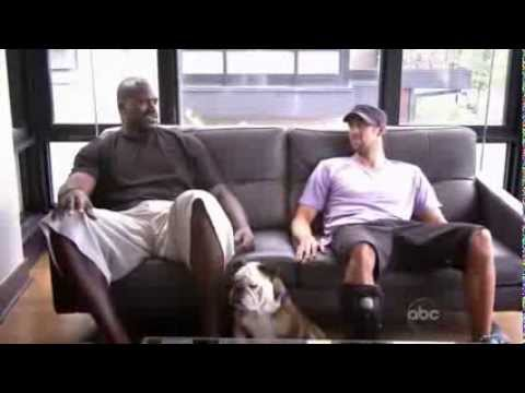 Shaquille O'Neal vs Michael Phelps
