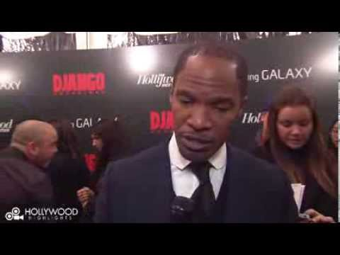 Watch Jamie Foxx & Leonardo Dicaprio at the Django Unchained premiere in New York City