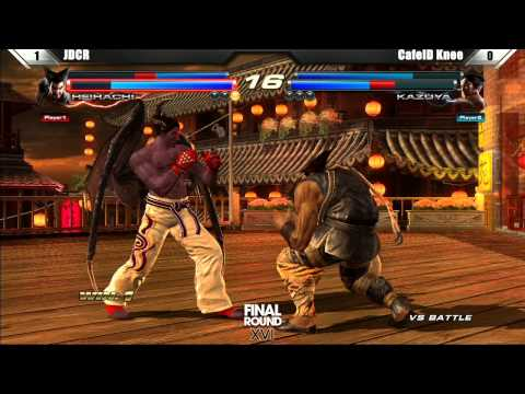 Tekken Tag Tournament 2 Grand Finals JDCR vs CafeID Knee - Final Round XVI