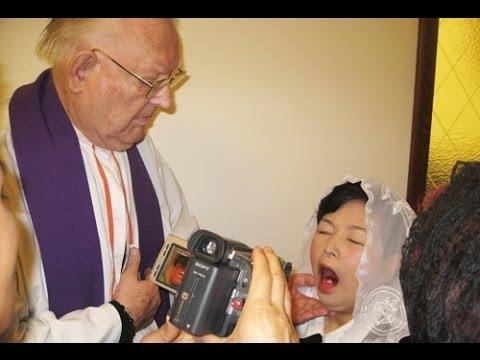 Phép lạ Thánh Thể qua trung gian Julia Kim tại Vatican 2010.
