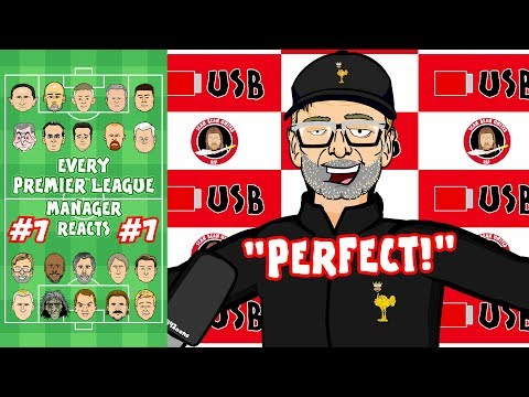 😴Man Utd vs Arsenal 1-1!😴 #7 Every Premier League Manager Reacts!
