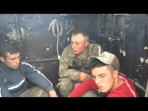 Nöbetteki Askerin Azer Bülbül Feryadı Nette İlk