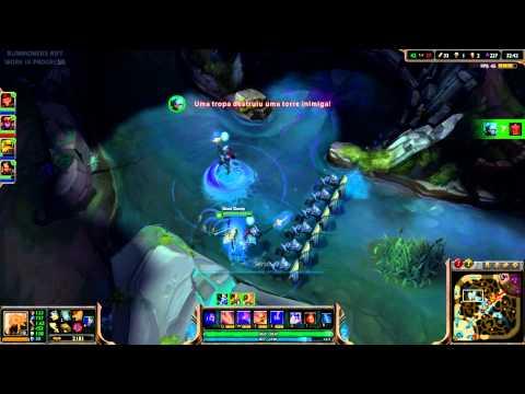 tướng mới Azir ăn baron như ăn blue =))