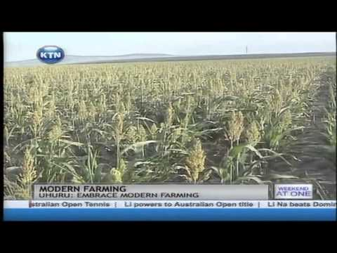 President Uhuru Kenyatta has urged farmers to embrace modern farming methods
