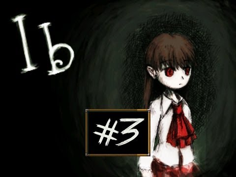 Ib - Part 3 | MARY'S YELLOW ROSE | RPG Maker Horror Game | Gameplay/Commentary/Face cam reaction