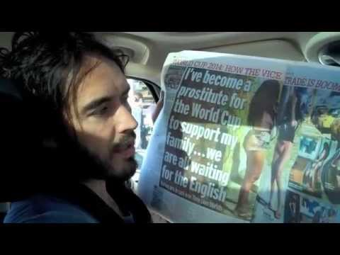 Are You Worried About The World Cup? Russell Brand The Trews Ep77