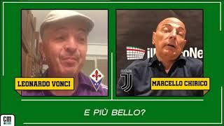 Fiorentina-Juve, Vonci contro Chirico: 'Siete una lavatrice sporca'. 'Rivalità? Ma chi vi calcola?'