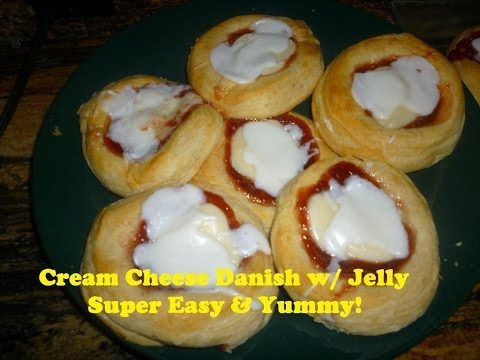 GRANDS Super Easy & Super Delicious Cheese Danishes |Dessert Treats video Tutorial