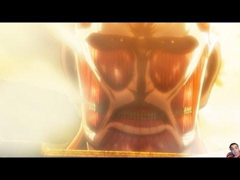 Attack On Titan Episode 1 進撃の巨人 Review -- Humanity's Despair (Shingeki No Kyojin)