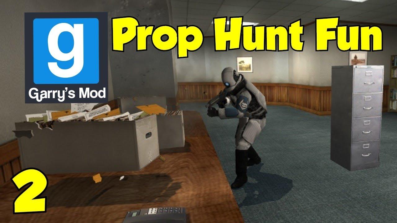 how to play garrys mod prop hunt