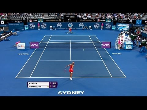 Angelique Kerber 2014 Apia International Sydney Hot Shot