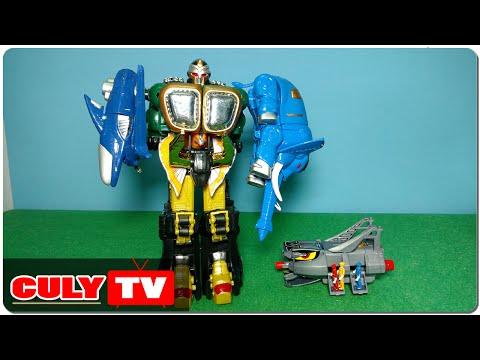 Lắp ráp robot siêu nhân gao khỉ nhìn đẹp thấy mà ghê đồ chơi trẻ em gao rangers king kong