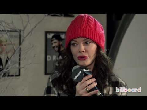 Rose McGowan Talks Directorial Debut 'Dawn' at Park City Live During Sundance 2014