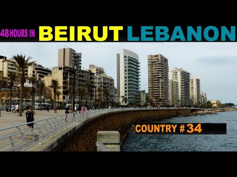 A Tourist's guide to Beirut, Lebanon 2014