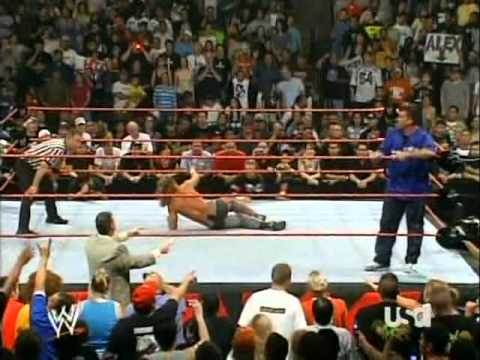 Shawn Michaels with Triple H vs. Shane Mcmahon with Vince Mcmahon WWE Raw Single Match 17.07.2006