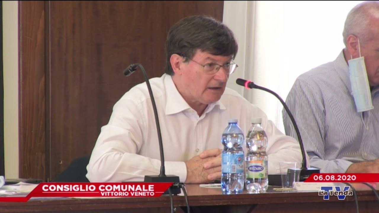 CONSIGLIO COMUNALE VITTORIO VENETO - Seduta del 06.08.2020