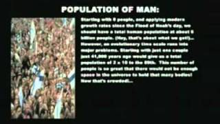 Population & Magnetism Proves Young Earth