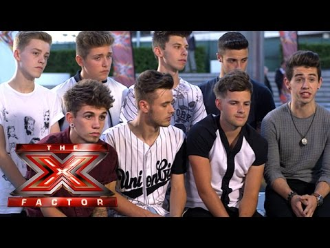The X Factor Backstage with TalkTalk TV Ep 10 Ft. Only the Young & New Boyband