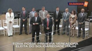 Posse da vereadora Renata Narcizo em Itajaí-SC