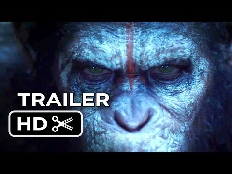 Dawn Of The Planet Of The Apes TRAILER (2014) - Keri Russell, Andy Serkis Movie HD