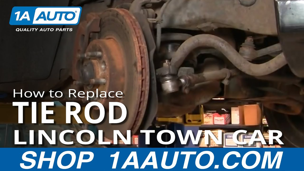 1aauto Com Replace Steering Linkage Tie Rod End Lincoln