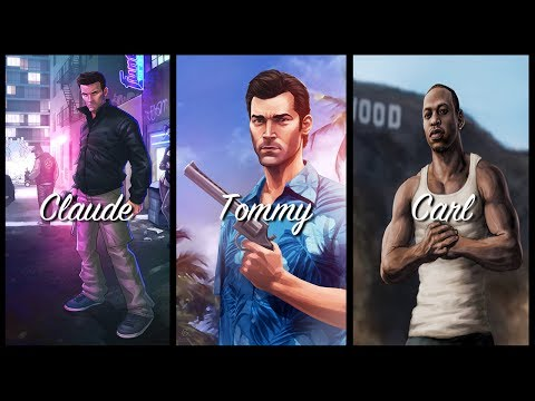 Why Claude, Tommy Vercetti, and Carl Johnson Haven't RETURNED In GTA V - 2D, 3D & HD Universe!