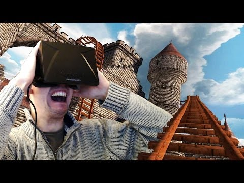 OCULUS RIFT ROLLERCOASTER | SCARIER THAN ANY HORROR GAME
