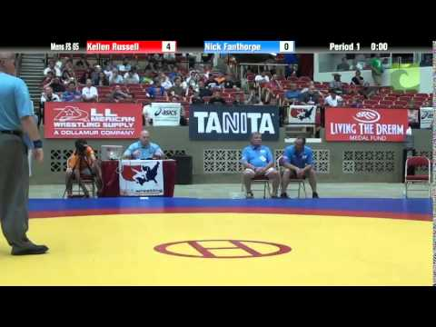 65 KG - Kellen Russell vs. Nick Fanthorpe
