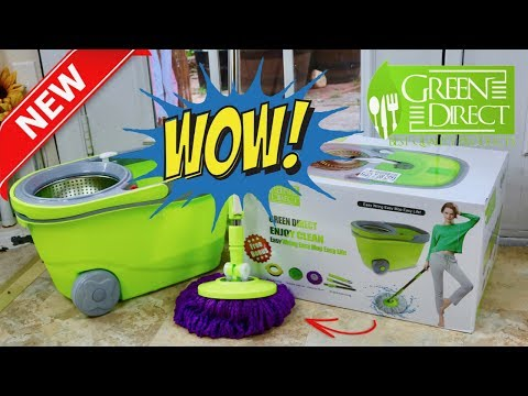 😍  GREEN DIRECT Spin Mop - Review ✅