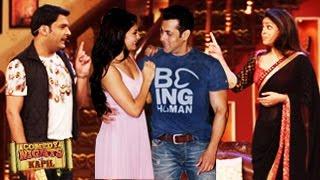 Salman Khan On Comedy Nights With Kapil 26th July 2014