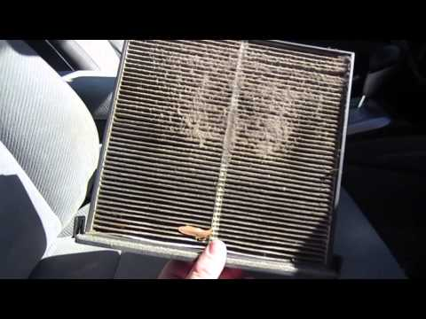 How to change a cabin air filter in a 2007 to 2011 Nissan Altima