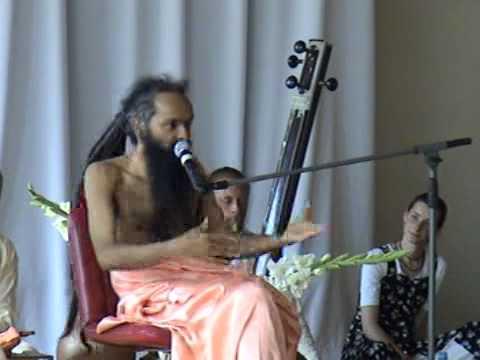 Шри Госвами Яшенду Джи, Шри Госвами Баленду Джи. Об энергии чакр (11.08.2007), ч.1