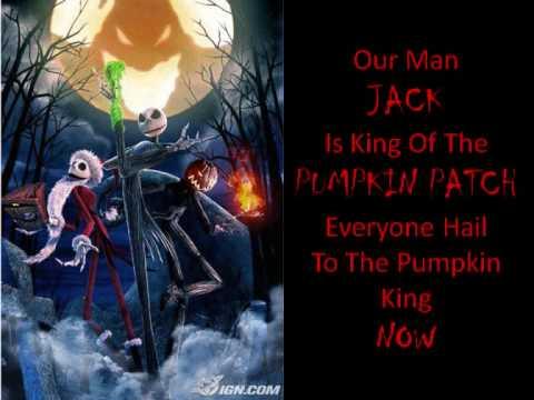 Marilyn Manson - This Is Halloween (Nightmare Before Christmas Lyrics ...