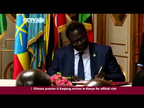 South Sudan Rival Sign Peace Deal