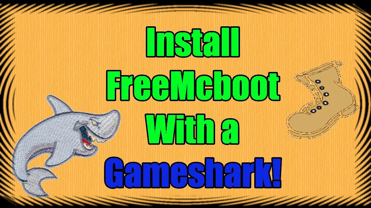 How To Install Free Mcboot On A Ps2 Memory Card With A Gameshark Simple Youtube