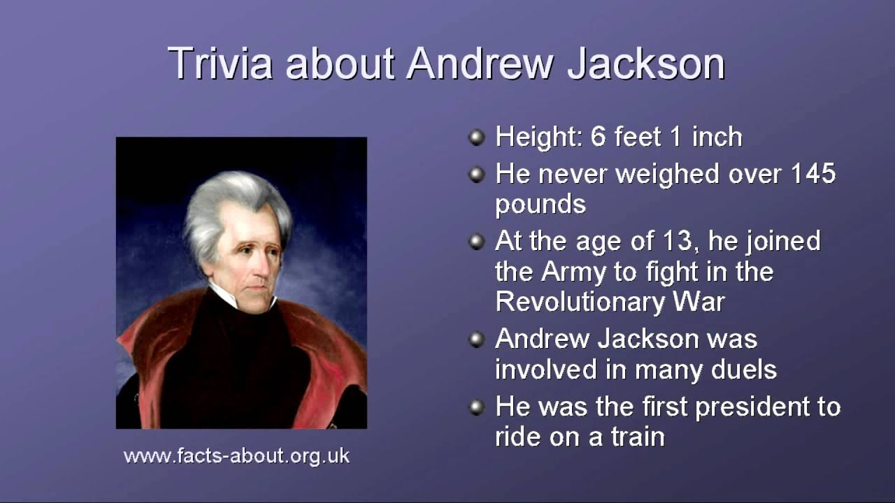 andrew jackson analysis Andrew jackson left a permanent imprint upon american politics and the  presidency within eight years, he melded the amorphous coalition of personal.