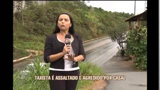 Taxista � roubado e esfaqueado por dupla em Nova Lima