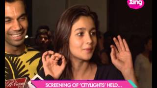 Screening of 'Citylights' held