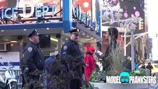 Jerking Off In Front Of Cops Prank!